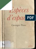 Espèces d'espaces_Georges Perec_Galilée_1992