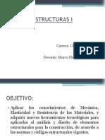 Estructuras i Unidad i y II