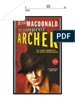 Macdonald Ross - El Expediente Archer