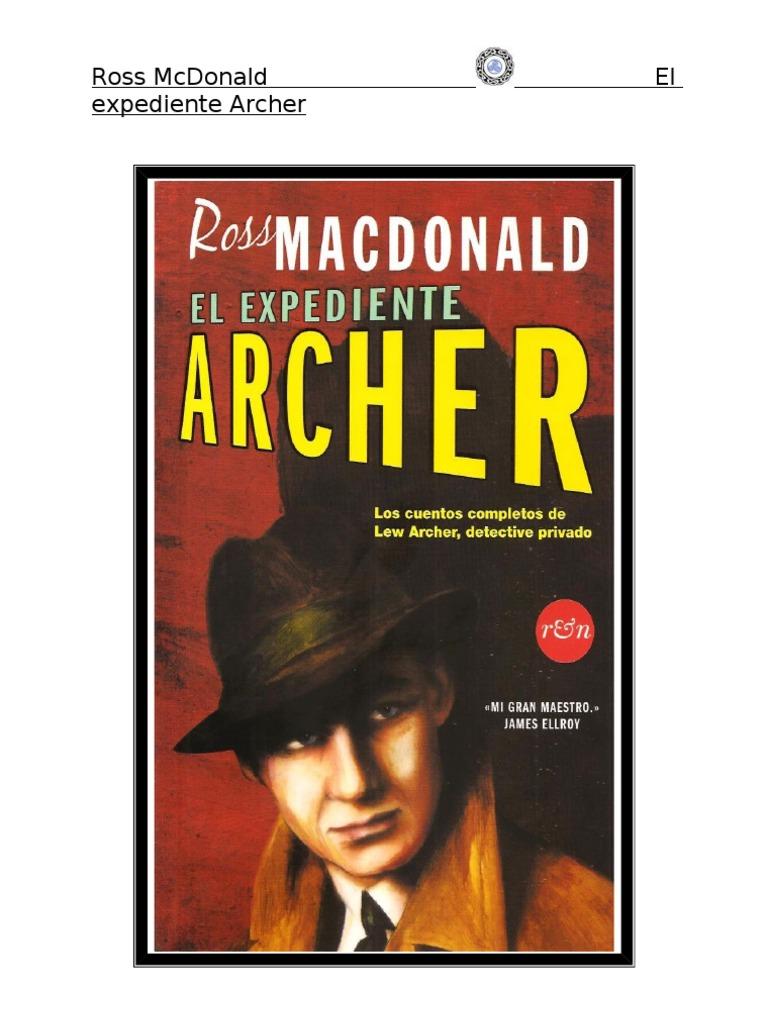 Macdonald Ross - El Expediente Archer e7d46964499