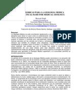 Bases Teoricas Para La Geologia Medica