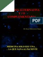 Medicina Alternativa y o Complementaria
