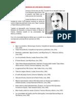 Biografia de Jose Maria Arguedas