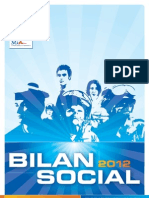 Bilan Social 2012