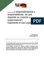 Nuevos Emprendimientos - Caso Argentino(1)