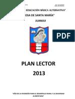 Plan Lector Ceba 2013