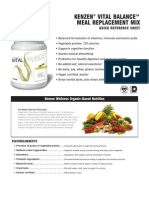 Kenzen Vital Balance Meal Replacement Mix