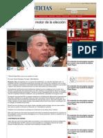 07-07-2013 'Ciudadanos son el motor de la elección' Pepe Elías