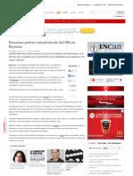 08-07-2013 Reconoce Petista Virtual Triunfo Del PRI en Reynosa