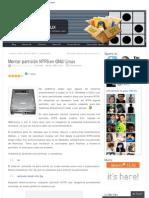 Montar partición NTFS en GNU_Linux