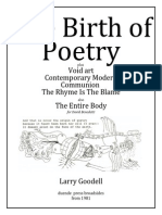 1981 the Birth of Poetry & 5 Broadsides