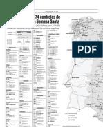 Radares tráfico España mapa