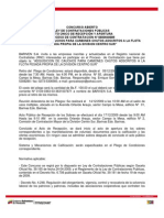 Contrataciones PDVSA 16-12-2009