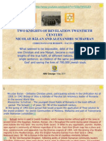 Two Knights of Revelation Twentieth Century Nicolae Balan and Alexandru Schafran