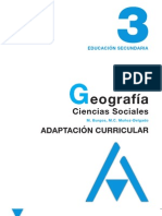 Geo e Hist - 3 ESO Anaya (Adapt Curricular)