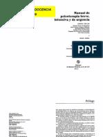 Manual de Psicoterapia Breve, Intensiva y de Urgencia