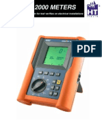 HT2010 DIGITAL  - MEGGER METER - USER MANUAL