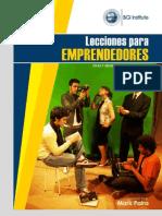Libro Lecciones Para Emprendedores