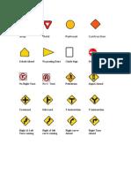 Driving Testdump - Signs