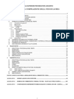Guida Compilazione Tesi 2007