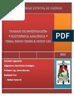 RAFAEL COBOS M - Diodo Zener & Diodo Led - Trabajo de Investigación (Electronica Analogica)