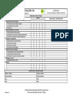 Formato Inspeccion Condiciones Medio Ambiente de Trabajo