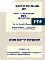 ICB - Projeto de monitoreamento para comitÊ de ética