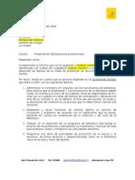 Presentacion Profesionales a Rectores 2009