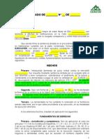 Modelo de Demanda de Ejecucion de Sentencia Para Ceaccu (1)
