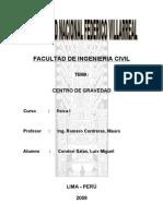 Centro de Gravedad
