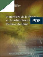 Naturaleza Publica de La AP