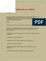 Diseño global de un criadero