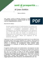 Nuova Edizione Dei Suggerimenti Di Prosperità di Joan Sotkin - Vol. 1-2007