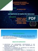 Antibioticos de Espectro Reducido