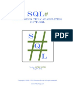 SQL Sharp Manual - Expanding the capabilities of T-SQL.pdf