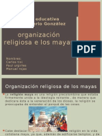 Organizacion Religiosa de Los Mayas