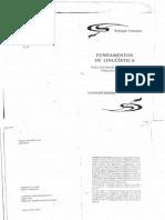 Lorenzo - Fundamentos de Lingûística