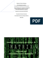 Analisis Montaje Matrix Alejandrochavez.com