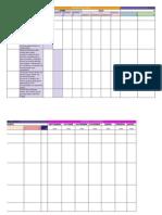 Plan de Medios - Cronograma Redes