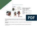 Esquema elétrico do sistema de ignição eletrônica transistorizada