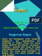 Kuliah Empati Blok 1