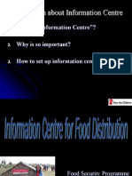 Information Centre Presentation in Chung Tar