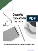 130903047 CNJ Questoes Prova Basica Comentadas PDF