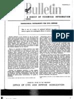 Civil Defense Tb 11-20 Radiological Instruments for Civil Defense App 5 1958