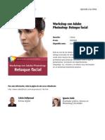 Workshop Con Adobe Photoshop Retoque Facial
