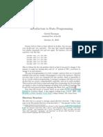 Stat a Programming