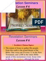 Lesson 6 Revelation Seminars -Revelation's Glorious Rapture