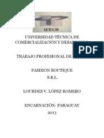 UNIVERSIDAD TÉCNICA DE COMERCIALIZACIÓN Y DESARROLLO