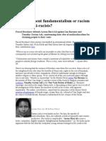 Racism Antiracist