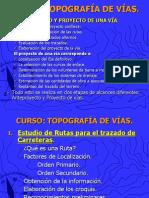 CURSO Topografía